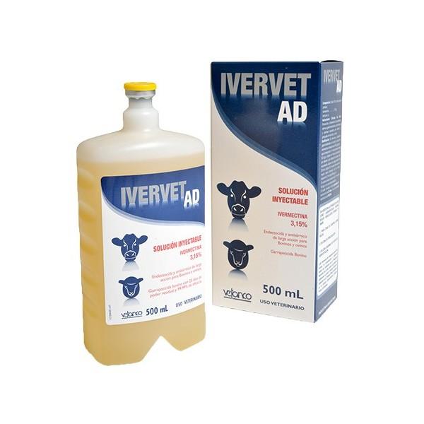 VETANCO - IVERVET AD 3.15 % X 500 CC-