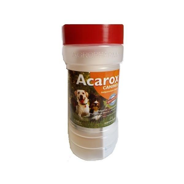 AGROPHARMA - ACAROX CANINOS MULTIDOSIS X 100 CC.-