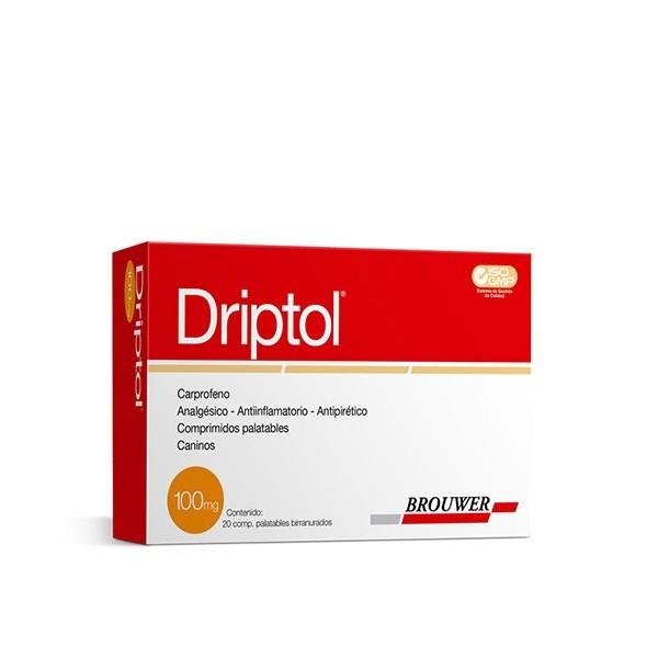 BROUWER - DRIPTOL 100 mg. X 20 COMP.-