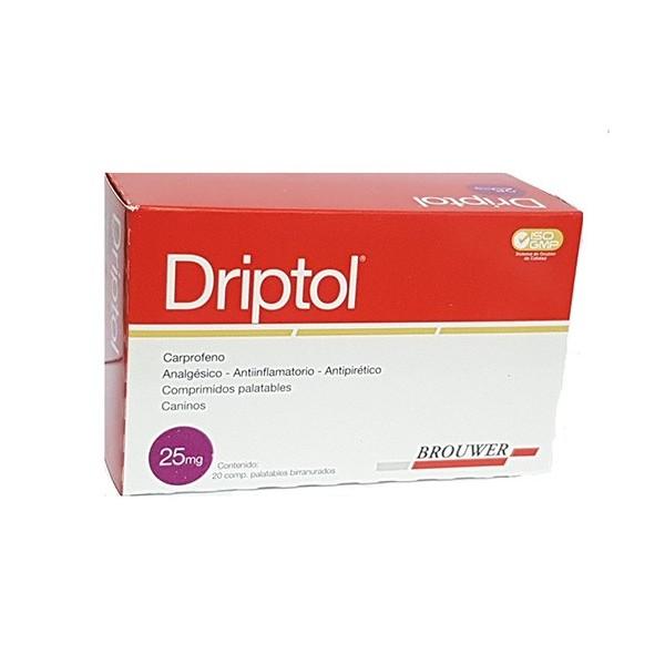 BROUWER - DRIPTOL 25 mg. X 20 COMP.-