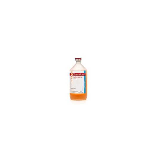 AGROPHARMA - CLOSTRIDIUM 9 X 250 CC. (50DS.)-