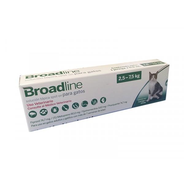BOHERINGER - MERIAL - BROADLINE GATOS 2.5 a 7.5 KGS.