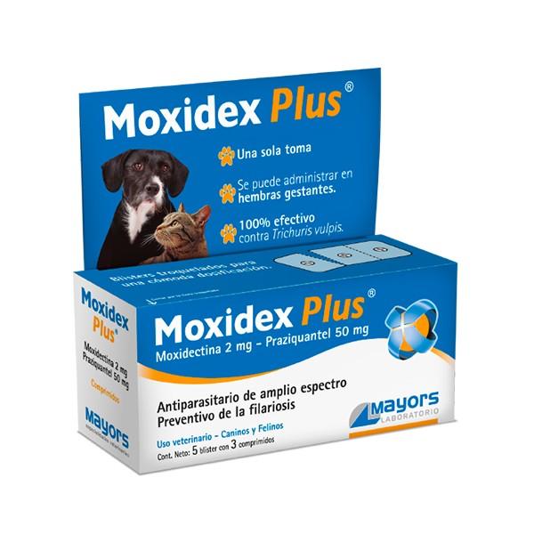 MAYORS - MOXIDEX PLUS 5 bl. X 3 COMP.-