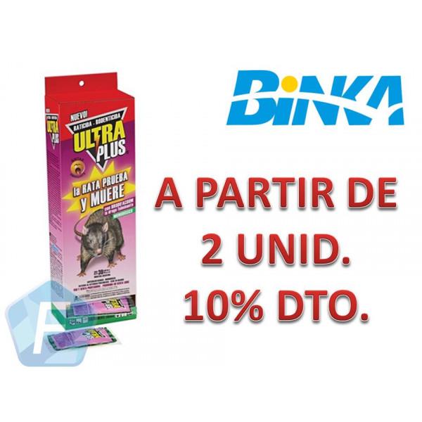 RATICIDA ULTRA 30 SOBRES x 50 grs