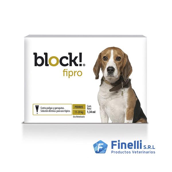 JOHN MARTIN - PIP. BLOCK! FIPRO 1,34cc (11-20Kg)