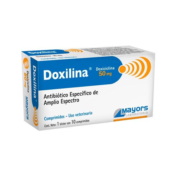 MAYORS - DOXILINA 50 mgr. X 10 COMP.-