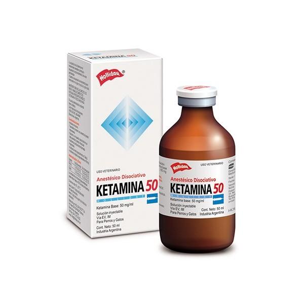 HOLLIDAY - KETAMINA 50 X 50 CC.-