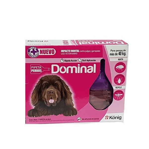 KONIG - PIP. DOMINAL PERROS mas de 40 Kg.-